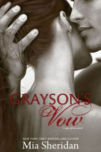 Book review: Grayson's Vow ~ Mia Sheridan