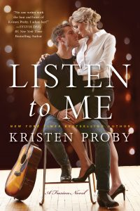 Book review + Excerpt: Listen to Me ~ Kristen Proby