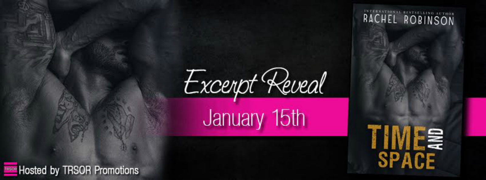 Excerpt reveal: Time and Space ~ Rachel Robinson