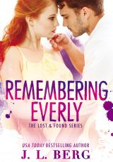 Book review + Excerpt: Remembering Everly ~ J.L. Berg