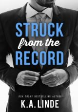 Cover reveal: Struck From The Record ~ K.A. Linde