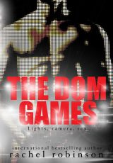 Book review + excerpt: The Dom Games ~ Rachel Robinson
