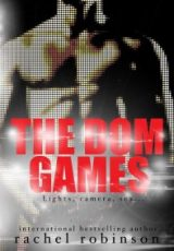 Cover reveal: The Dom Games ~ Rachel Robinson