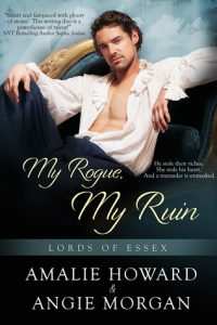 Book review: My Rogue, My Ruin ~ Amalie Howard & Angie Morgan