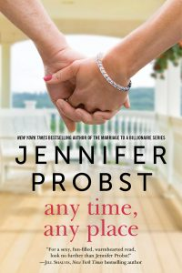 Book review: Any Time, Any Place ~ Jennifer Probst
