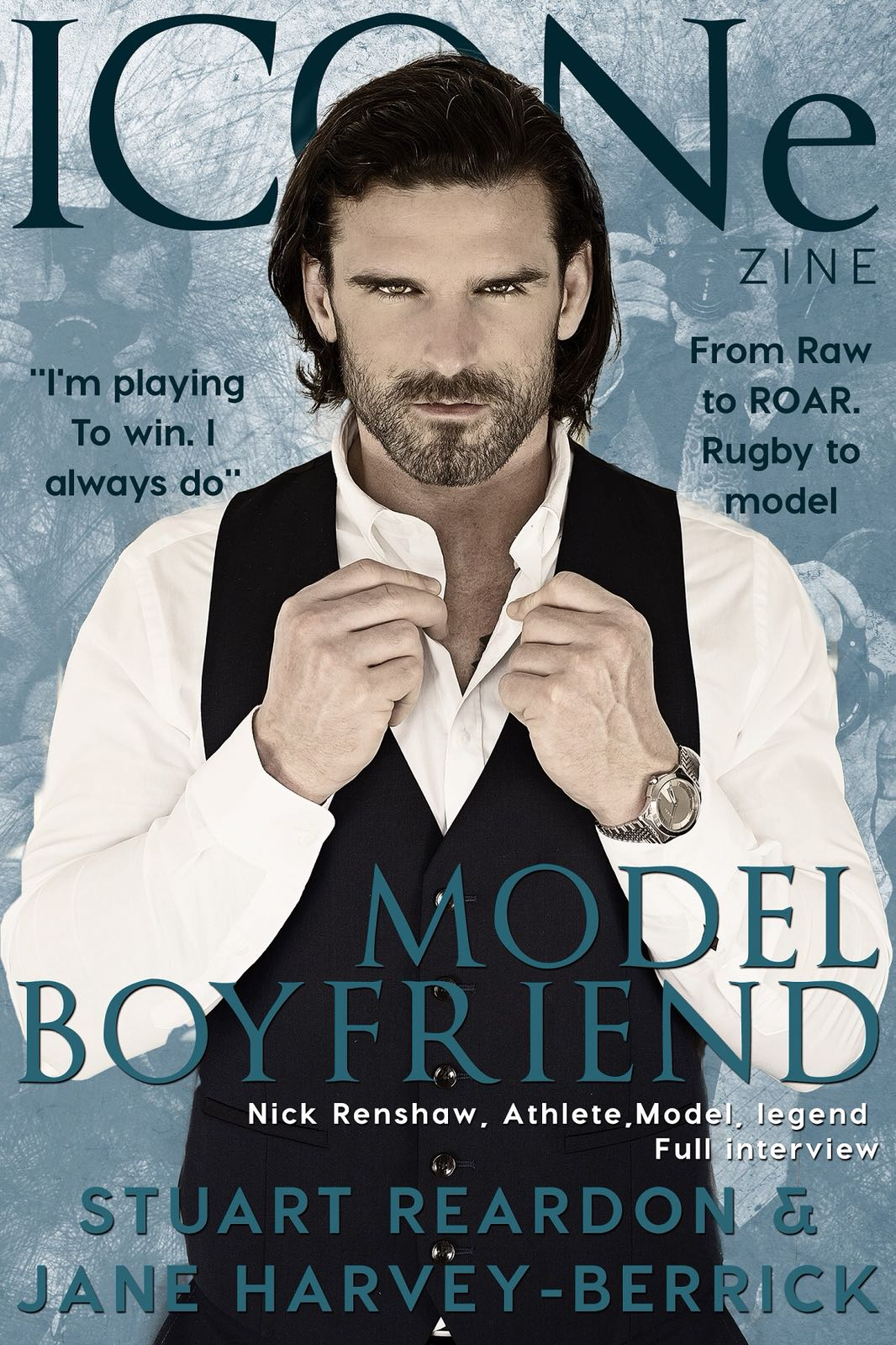 Model Boyfriend by Jane Harvey-Berrick, Stuart Reardon