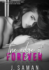 Cover reveal: The Edge of Forever ~ J. Saman